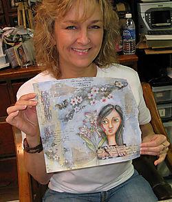 Deryn&painting