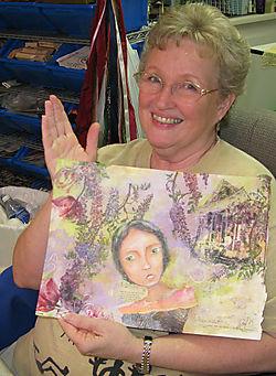 Sally&painting
