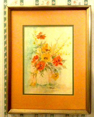 Flowersbathroom