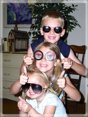 Grandkidssunglasses framed